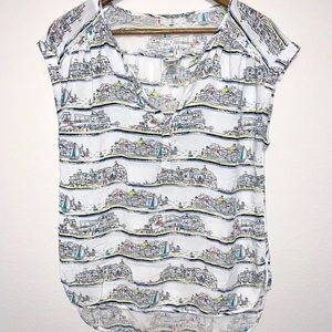Stylus vacation scene top size medium